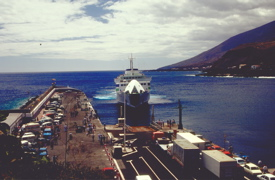 Hafen La Estaca in El Hierro