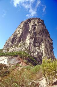 Roque Agando auf La Gomera