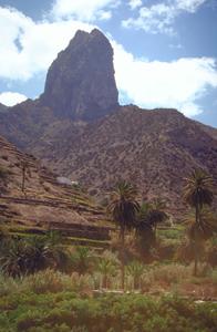 Roque Cano bei Vallehermoso auf La Gomera