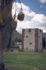 Torre del Conde in La Gomera wichtiger Punkt in der Geschichte
