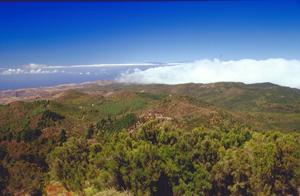 Gipfel von La Gomera