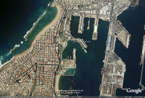 Kreuzfahrthafen von Las Palmas de Gran Canaria