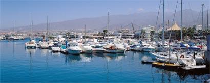 Segeln auf Teneriffa, Hafen Puertocolon