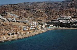 Playa del Cura im Gebiet von Mogan / Gran Canaria