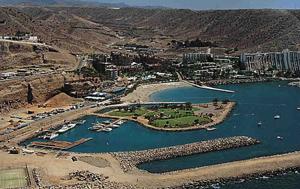 Playa Anfi del Mar in der Gemeinde von Mogan