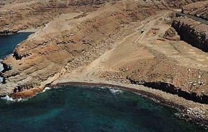 Strand von Medio Almud im Südwesten von Gran Canaria