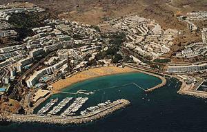 Puerto Rico einer der wichtigsten Touristenorte auf Gran Canaria