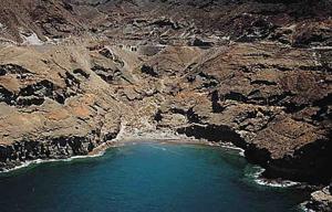 Strand von Tiritaña kurz vor Mogan