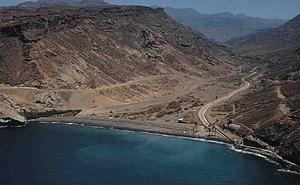 Playa de Veneguera im Südwesten von Gran Canaria