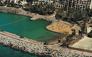 Playa Aquamarina im Südwesten von Gran Canaria