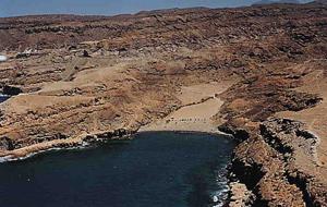 Playa Cruz de Pierdra im Süden von Gran Canaria