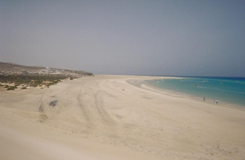 Fuerteventura Strand von Sotavento