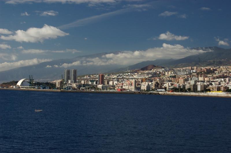 Hafen Santa Cruz de Teneriffa, Anreise per Schiff.