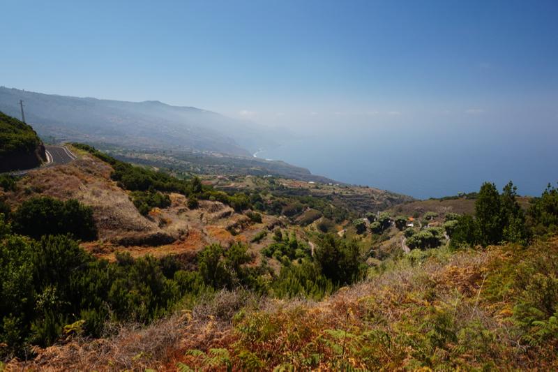 Mirador de La Tosca, La Palmas norden