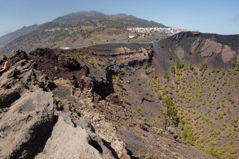 Vulkan von San Antonio, La Palma süden