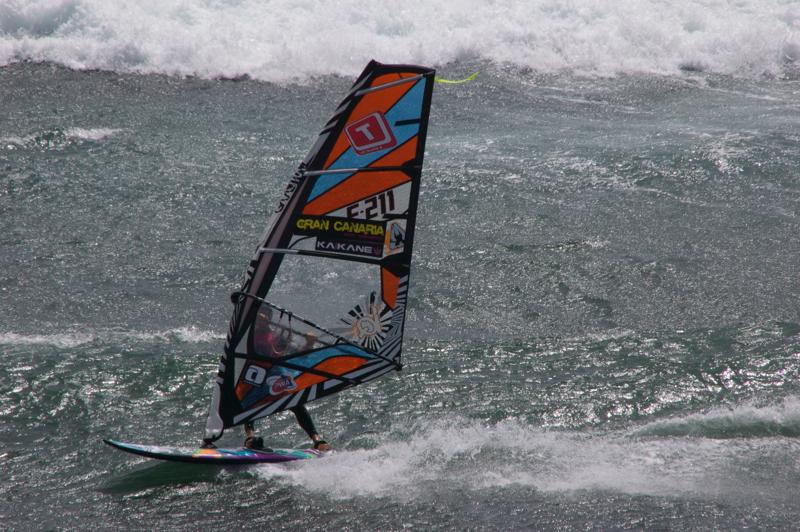 Windsurfer in Pozo Izquierdo
