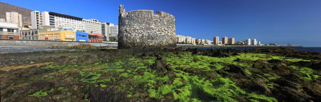 Verteidigungsturm von San Cristobal, im Süden von Las Palmas