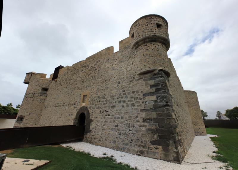 Die kleine Festung Castillo de la Luz im Norden von Gran Canaria