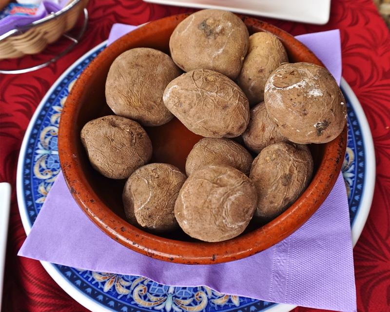 Kanarische Kartoffeln, Papas Arrugadas
