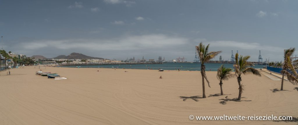 Alcaravaneras Strand von Las Palmas