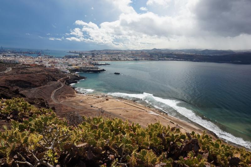 Strand von El Confital, Las Palmas, Gran Canaria