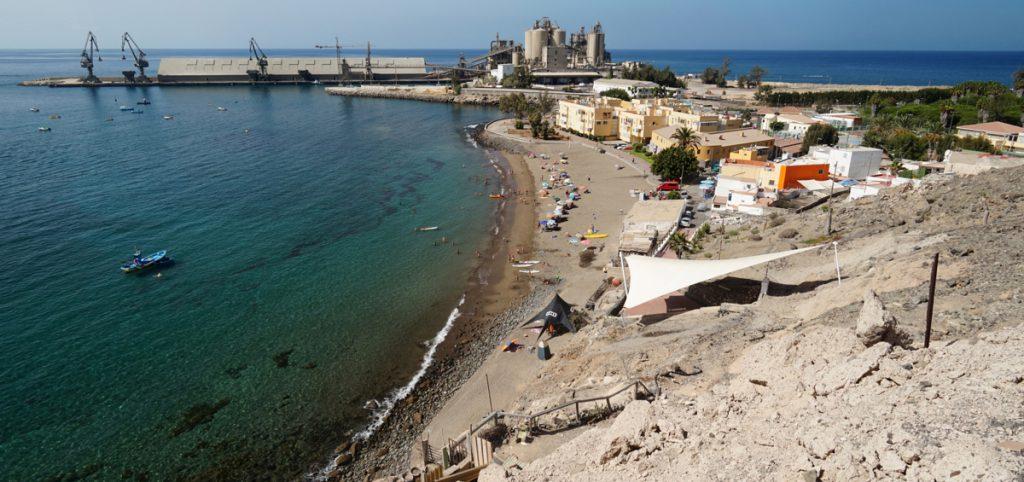 Strand von Santa Agueda und Ganeguin, Arguineguin, Gran Canaria