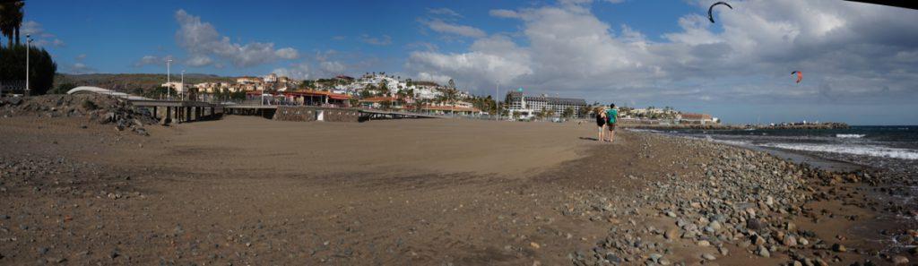 Sandstrand von Las Burras, San Agustin.