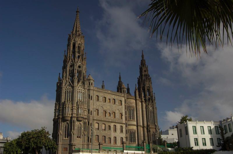 Kirche San Juan von Arucas im neugotischem Stil