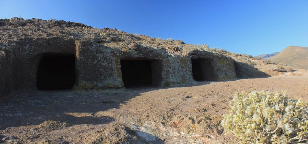 Archäologische Fundstelle auf Gran Canaria, Cuatro Puertas.
