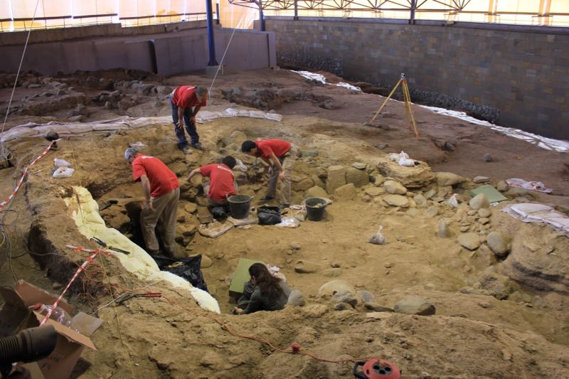 Ausgrabungen in Galdar, Cueva Pintada