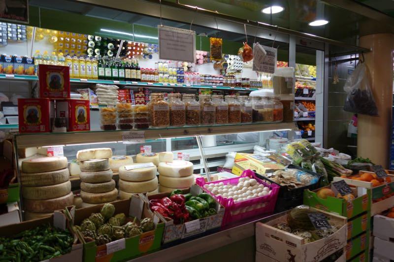 Käsestand im Markt von Galdar