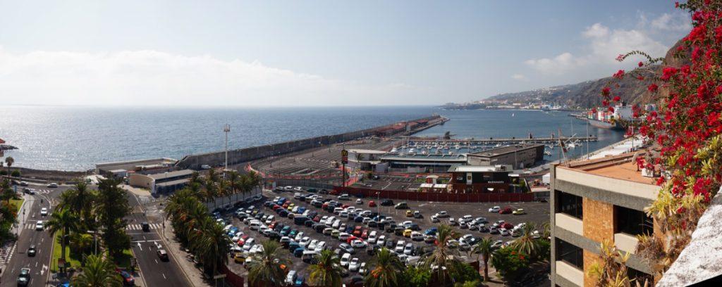 Hafen der Insel La Palma