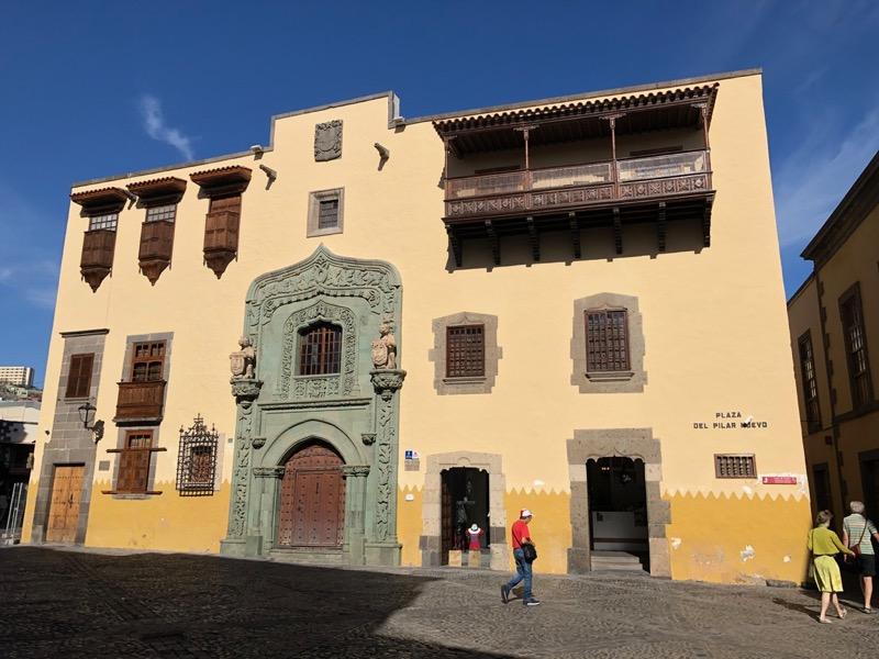 Kulumbushaus, Casa de Colon, Las Palmas de Gran Canaria.