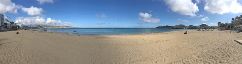 Strand von Las Canteras, Las Palmas