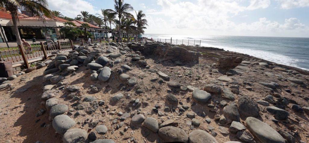 Meloneras, archeologische Fundstelle Punta de los Mujeres, Gran Canaria