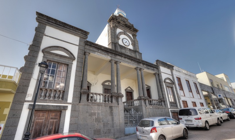 Haus der Wassergesellschaft von Moya, Gran Canaria
