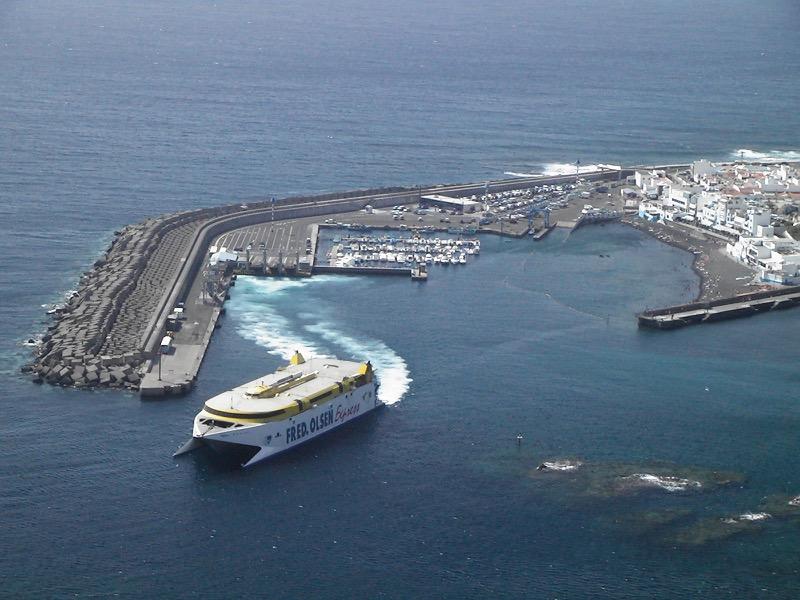 Hafen von Agaete, Puerto de las Nieves