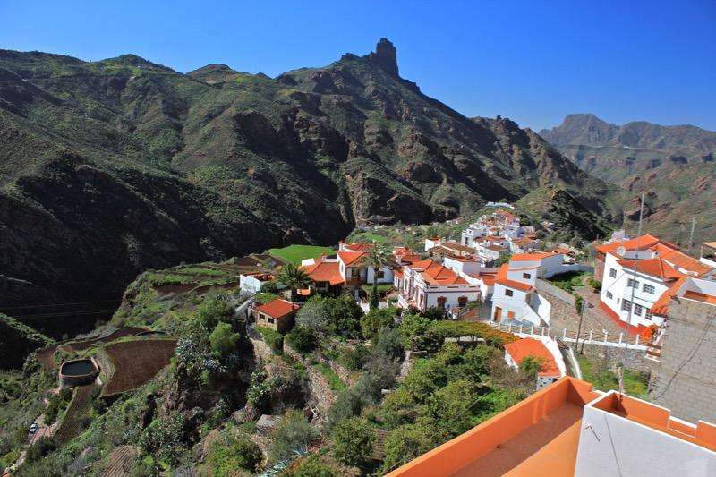 Tejeda und Roque Bentaiga im Zentrum von Gran Canaria
