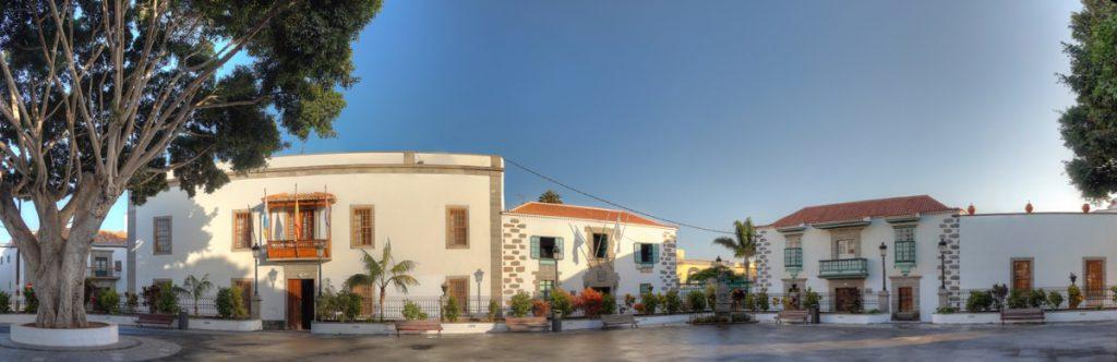 Gemeinde und Kirchplatz von Telde, Gran Canaria